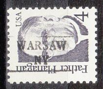 USA Precancel Vorausentwertung Preo, Locals New York, Warsaw 882 - Vereinigte Staaten