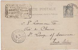 Carte Commerciale 1895 / BERTHE / Peintre / Papiers Peints / Le Nouvion / 02 Aisne - Maps