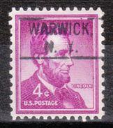 USA Precancel Vorausentwertung Preo, Locals New York, Warwick 802 - Vereinigte Staaten