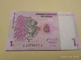 1 Centime 1997 - Republic Of Congo (Congo-Brazzaville)