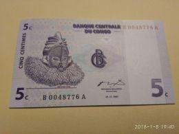 5 Centime 1997 - Congo