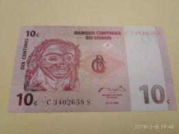 10 Centime 1997 - Republic Of Congo (Congo-Brazzaville)