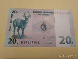 20 Cent 1997 - Republic Of Congo (Congo-Brazzaville)