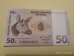 50 Cent 1997 - Republic Of Congo (Congo-Brazzaville)