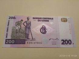 200 Francs 2000 - Congo