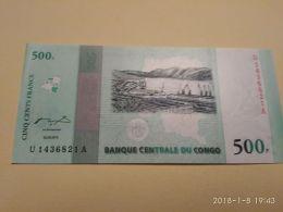 500 Francs 2010 - Republic Of Congo (Congo-Brazzaville)
