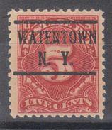 USA Precancel Vorausentwertung Preo, Locals New York, Watertown J64-225 - Vereinigte Staaten