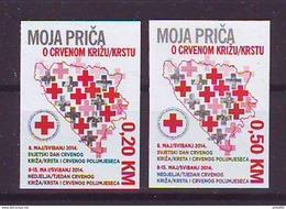 BiH Bosnia 2014 Y Charity Stamp Red Cross  Mi No 31 Selfadhesive MNH - Bosnie-Herzegovine