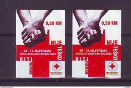 BiH Bosnia 2010 Y Charity Stamp Red Cross  Mi No 23 Selfadhesive MNH - Bosnia Erzegovina