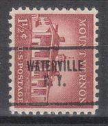 USA Precancel Vorausentwertung Preo, Locals New York, Waterville 704 - Vereinigte Staaten