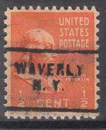 USA Precancel Vorausentwertung Preo, Locals New York, Waverly 703 - Vereinigte Staaten