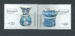 Año 2009 Nº 3388/9 Ceramica Portuguesa Y Turca - 1910-... Republik