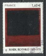 Francia. 2016. Mark Rothko. Pintor Impresionista. - Impresionismo