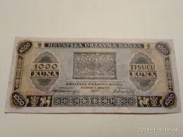 1000 Kuna 1943 - Croatie