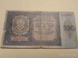 100 Kuna 1941 - Croazia