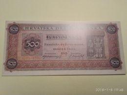 500 Kuna 1945   COPIA - Croatie