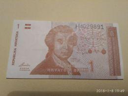 1 Dinara 1991 - Croazia