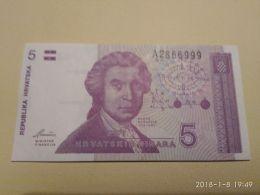 5 Dinara 1991 - Croatie