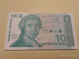 100 Dinara 1991 - Croazia