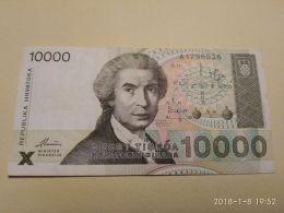 10000 Dinara 1992 - Croazia