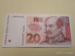 20 Kuna 1993 - Croatie