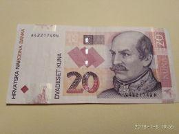 20 Kuna 2001 - Croazia