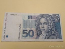 50 Kuna 1993 - Croatie