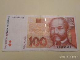 100 Kuna 1993 - Croatie