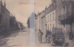 CPA  LUNEVILLE CARIOLE DE LA BRASSERIE DE BACCARAT DANS L'AVENUE VOLTAIRE - Luneville