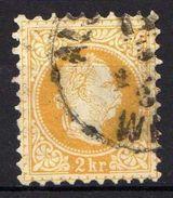 Österreich 1867 Mi 35 II, Gestempelt [090118XVIII] - 1850-1918 Empire