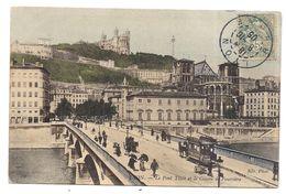 Lyon ,   Le Pont Tilsit Et Le Côteau De Fourvière -- -- - - Other