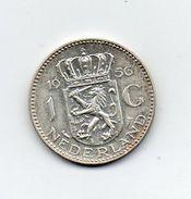 Paesi Bassi (Olanda) - 1956 - 1  Gulden - Argento - (MW1017) - [ 8] Monedas En Oro Y Plata