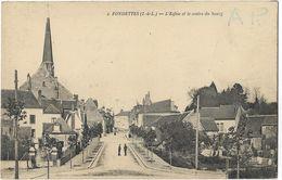Fondettes - L'Eglise Et Le Centre Du Bourg - Fondettes