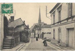 Fondettes - L'Eglise Et La Rue Principale - Fondettes