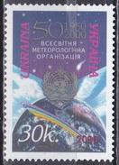 Ukraine 2000 Organisationen Meteorologie WMO UNO Wetter Klima Atmosphäre, Mi. 369 ** - Ukraine