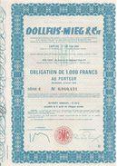 Obligation Dollfus-Mieg & Cie - Textile
