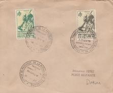 VISITE Du PRÉSIDENT DE LA RÉPUBLIQUE FRANÇAISE à NIAMEY / NIGER En AVRIL 1947 - Niger (1960-...)