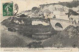 Fondettes - Vue Panoramique. Embouchure De La Choisille Dans La Loire - Fondettes