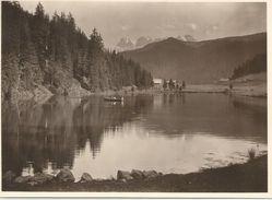 Lac De Morgins - Grande Photo (17,2 X 12,5 Cm) Prise Dans Les Années 30 - VS Valais