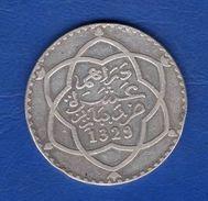 Maroc   Rial 1329  Paris  Arg  25  Gr - Morocco