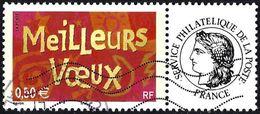 France 2003 - Meilleurs Voeux + Label Cérès  ( Mi 3746 Iy - YT 3623A ) - Personnalisés