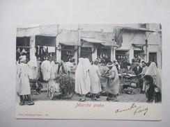 TUNISIE     -   MARCHE  ARABE           TRES  ANIME      TTB - Tunisie
