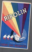 RIPOLIN Carte Des Nuances  (dépliant Carton) (PPP6619) - Advertising