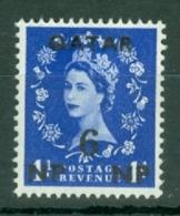 Qatar: 1960   QE II    SG21   6n.p. On 1d    MNH - Qatar