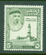 Qatar: 1961   Shaikh Ali Al-Thani    SG36   5R    MH - Qatar
