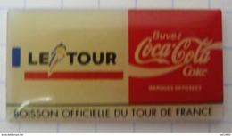 COCA COLA    BOISSON OFFICIELLE  Du TOUR De FRANCE 92 - Coca-Cola