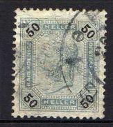 Österreich 1901 Mi 95 B, Zähnung 13 : 13 1/2, Gestempelt [090118XVIII] - Gebraucht