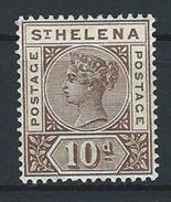St. Helena SG 52, Mi 27 * MH - Saint Helena Island