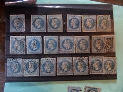 09.01.18-superbe Lot A Voir!!! - 1863-1870 Napoleon III With Laurels