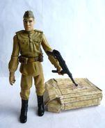 INDIANA JONES - RAIDERS OF THE LOST ARK - HASBRO 2008 - SOLDAT RUSSE - Figurines